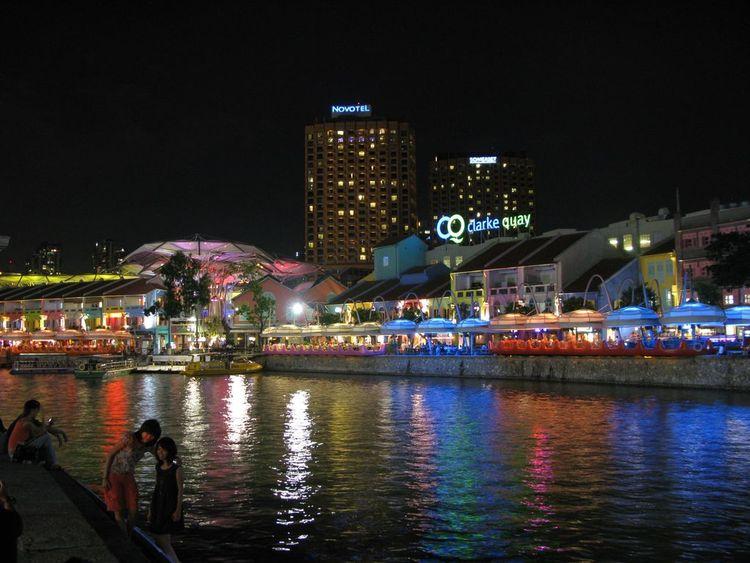Секс в ночном сингапуре