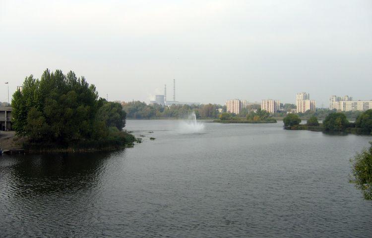 Река Свияга в Ульяновске